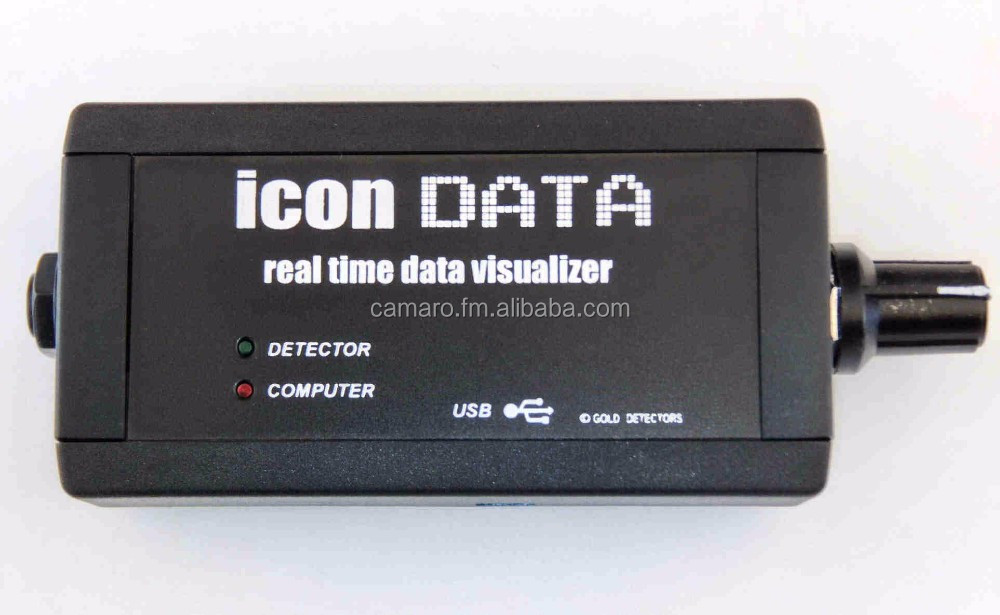 Data Acquisition Icon : Icon data metal detector logger and real time imaging