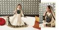 nueva moda diseñador partido desgaste anarkali traje con lleno longitud actrative diseño vestidos anarkali salwar kameez