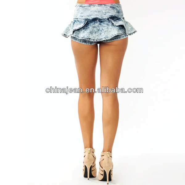2015 New Designer Fashion Women Skirt Very Short Mini