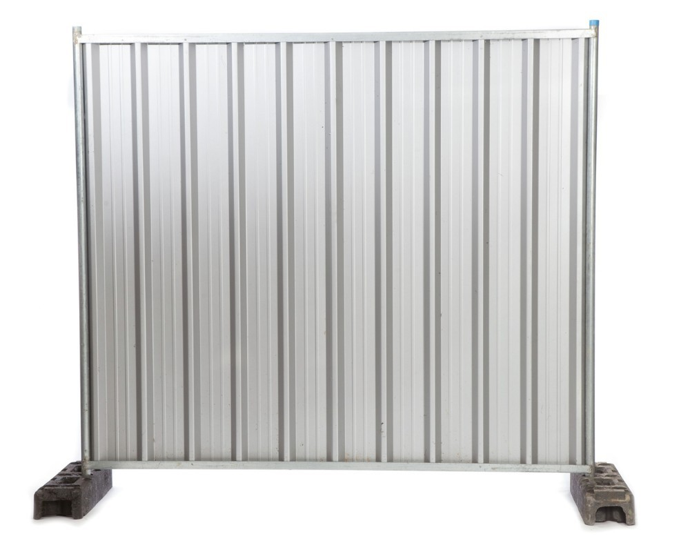 Steel hoarding fencing view apt corrugated metal fence panels corrugated steel fence fencing - Your guide to metal fence panels for privacy and safety ...