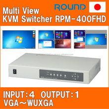 Japanese multi monitor KVM network switch brands for data center