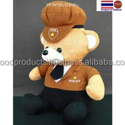Teddy Bear doll Souvenir clothes Police