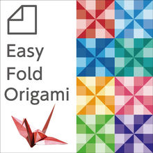 Origami owl folded easily by a pattern printing made in Japan