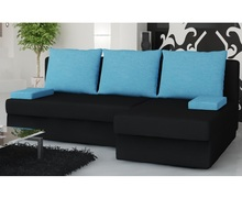 Corner sofa bed with storage Monaco
