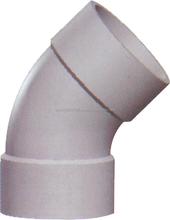 pvc gutter Factory Popular Plastic fittings 45 degree elbow best price ZAT- NS2792