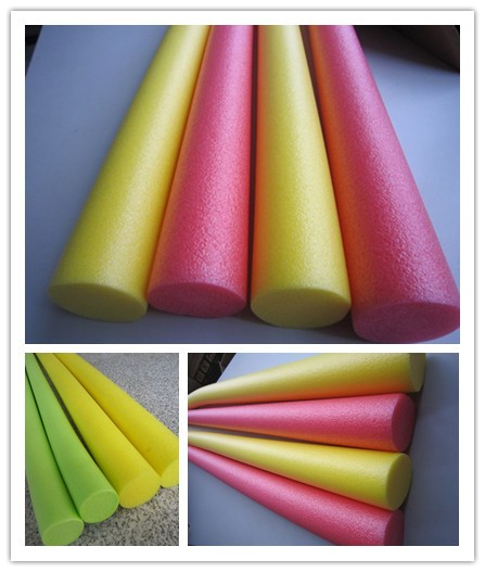 OEM EPE Foam Swimming Pool Noodles ,Customized Logo Print EPE Water swmming Noodles
