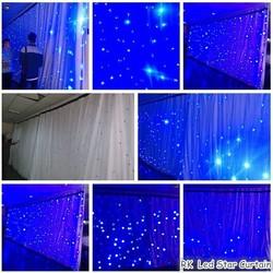 RK LED Star Curtain Bling Bling
