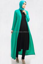 3 Pieces Basic Long Cardigan + Sleeveless Inner Midi Dress with Pants