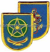 `Berets Embroidered Patches machine embroidery patch with good price
