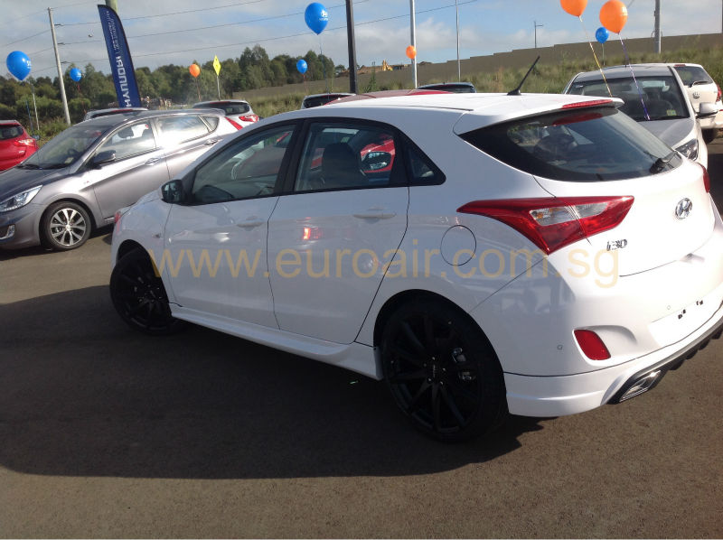 new hyundai i30 body kit in high quality abs material. Black Bedroom Furniture Sets. Home Design Ideas