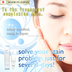 Japanese effective hand and foot whitening cream for dry skin