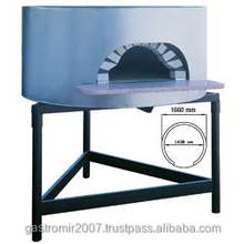 Traditional wood oven for pizzas, chamber diam.1450 mm, CE