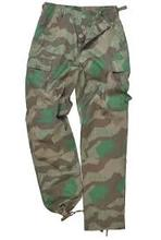 Custom military camo trousers lizard printed style new design best for men