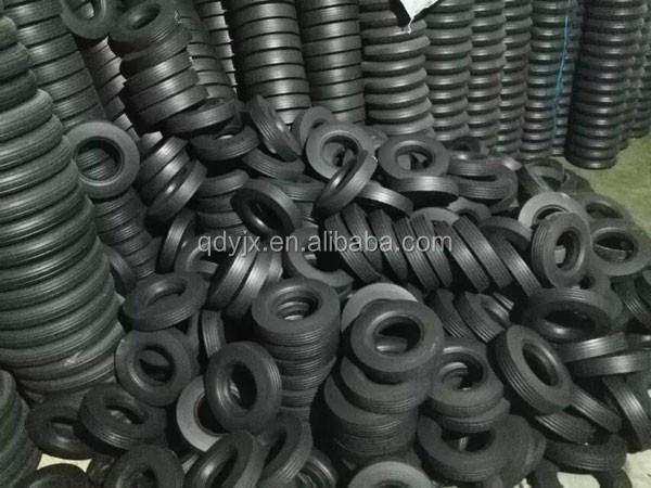 Pouces naturel caoutchouc pneu chariot roues solide pouces for Diametre exterieur pneu