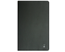 """VIVACASE PU leather universal case Classic for tablet PC 10"""", black, rubber strap holders, stand function (VUC-CCL10-bl)"""
