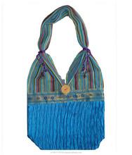 Latest silk Handmade Bags / Ladies Fashion Handbag / Popular Gypsy Bags