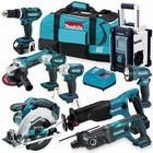 Makita LXT1500 18V LXT 15 pc. Cordless Combo Kit Bag