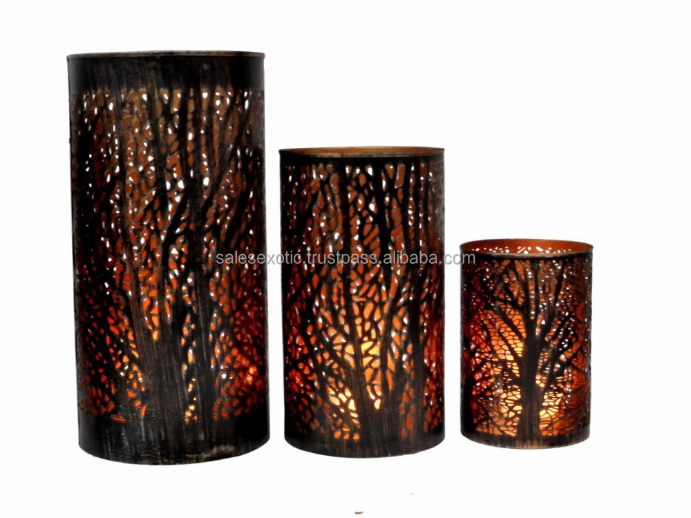 Votive holder buy tree candle holder etching candle holder decorative votive holder product on - A buying guide for decorative candles ...