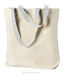 plain canvas tote bags/ organic cotton tote bags wholesale