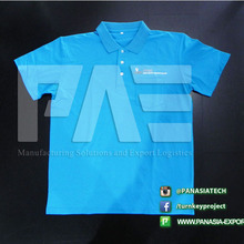 Best Selling Cotton/Polyester Goft Men Polo Shirt Fabric with Customized Logo