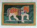 el último diseño 2015 elefante indio patchwork tapiz