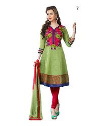 Printed Casual Salwar Kameez   Cotton Punjabi Salwar Suits