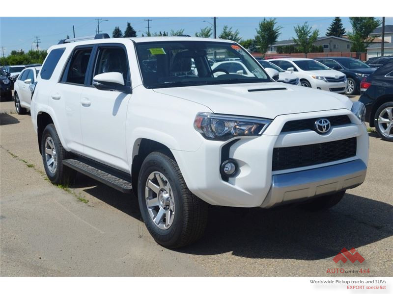 2015 Toyota 4runner 4x4 Trail Edition Canadian Version