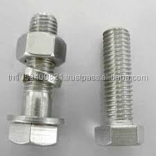 Standard size bolt and nut