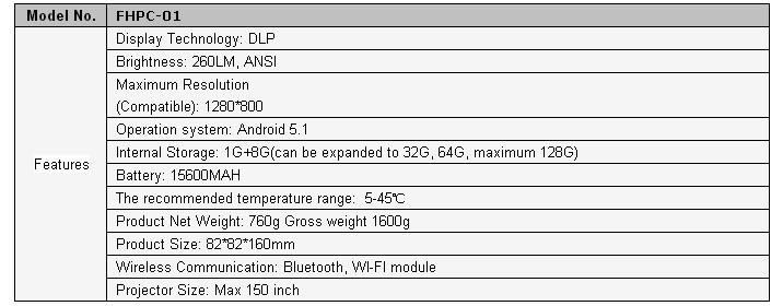FHPC-01 3D  projector.JPG