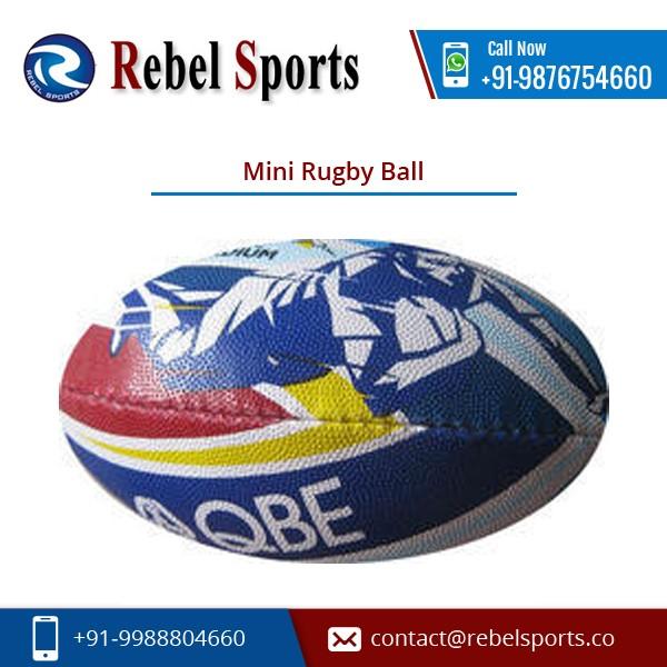 Baumwolle Laminat Mini Rugby Ball mit Ausgezeichnete Design zu Erstaunlichen Preis